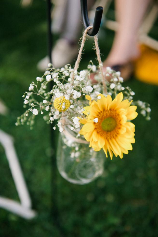 Cheerful Coral Navy Amp Mustard Diy Wedding