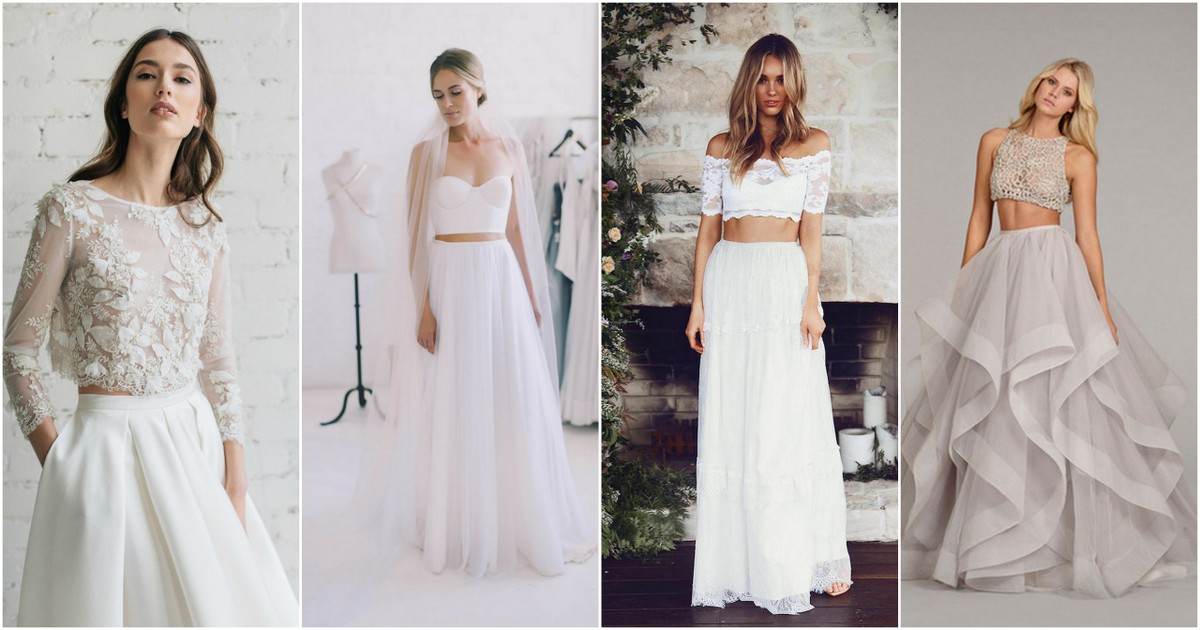 Possibly The Most Epic Selection Of Two Piece Wedding