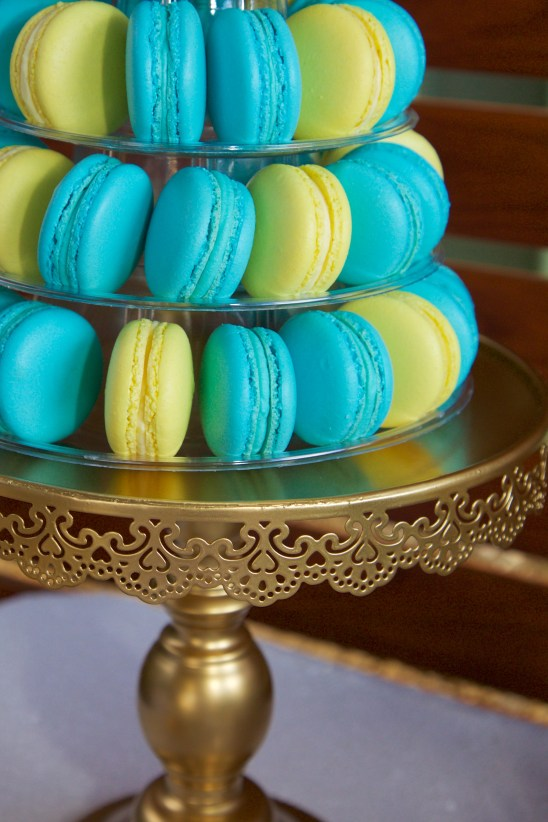 Macarons are always a winner!