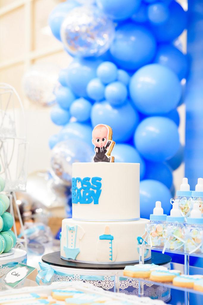 A Totally Cute Boss Baby Birthday Party Confetti Fair