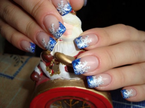 Fashionable manicure with sparkles and glitter: photos, the best ideas 29