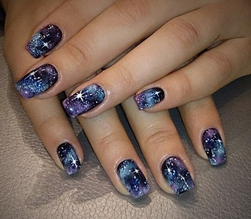 Fashionable manicure with sparkles and glitter: photos, the best ideas 20