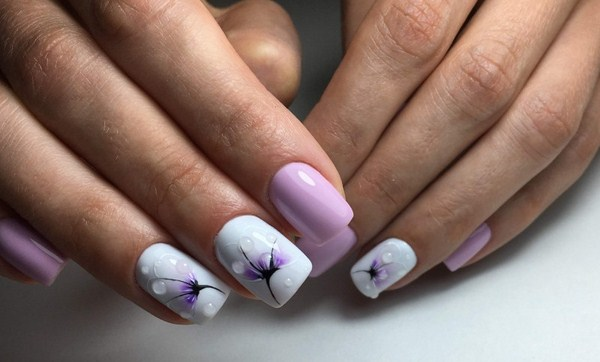 2018-2019 Bride's Wedding Manicure: Luxurious Nail Designs 13