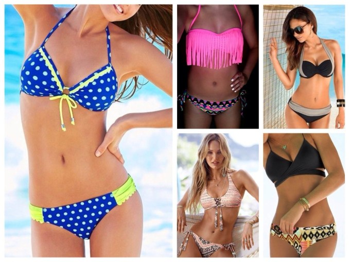 Swimwear for Inverted Triangle or T Shape