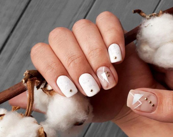 Top most beautiful manicure of winter 2020