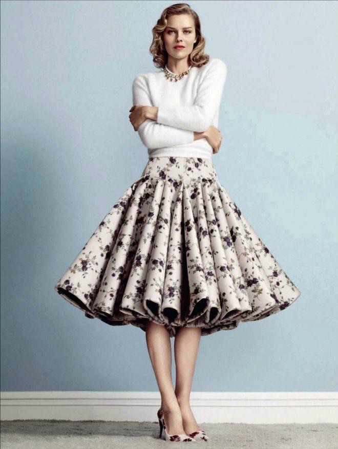 50s style full skirt