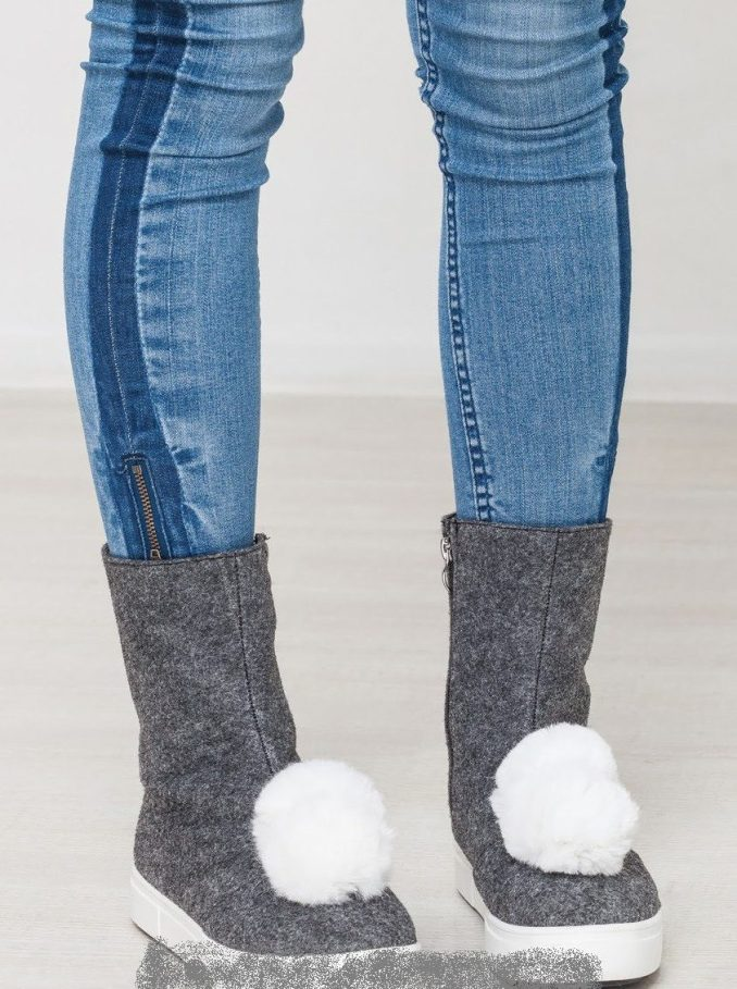 Fashionable warm and stylish winter shoes 2020 and 58 photos 8