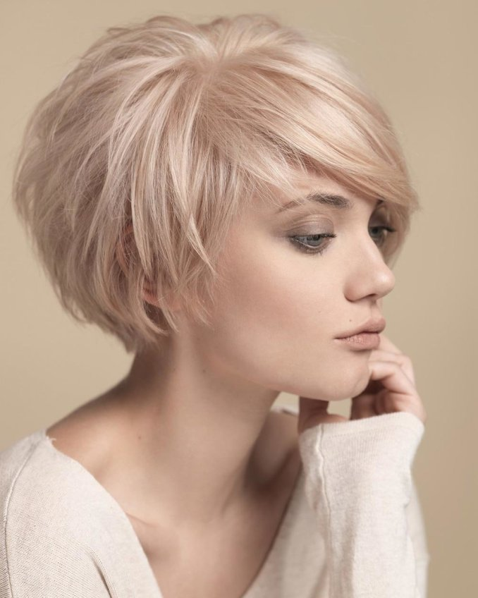 Trendy haircuts and hairstyles for short hair 2020 - 82 photos 4