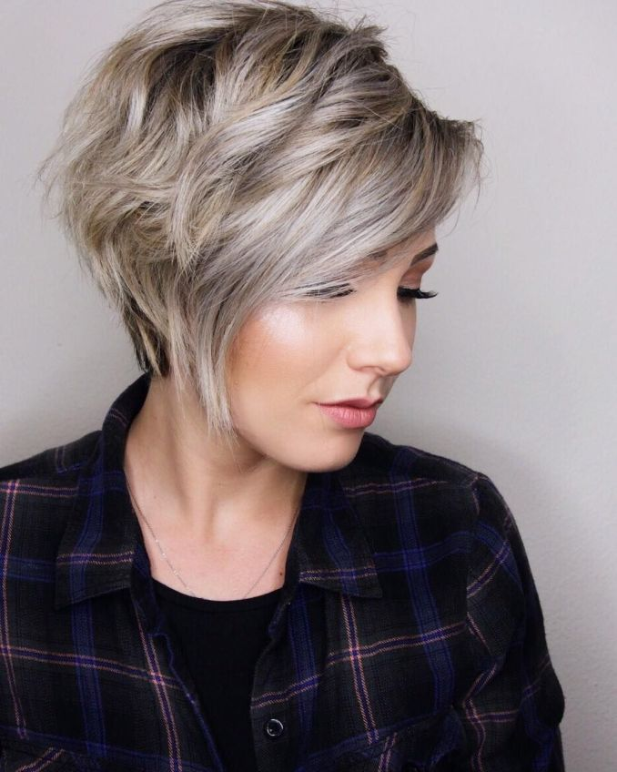 Trendy haircuts and hairstyles for short hair 2020 - 82 photos 5