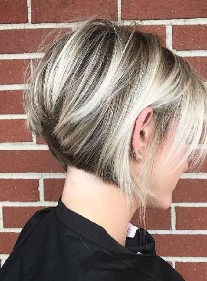 Trendy haircuts and hairstyles for short hair 2020 - 82 photos 35