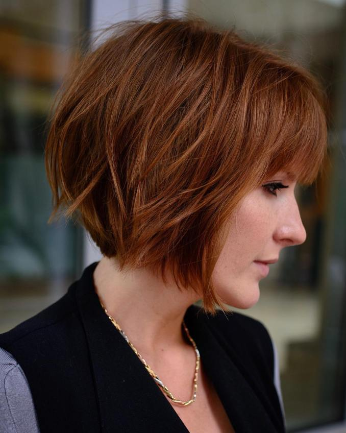 Trendy haircuts and hairstyles for short hair 2020 - 82 photos 42