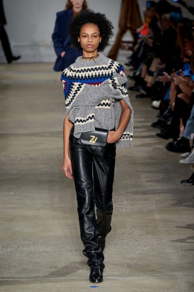 Fashionable pants from the fall-winter collection 2020-2021 Zadig & Voltaire