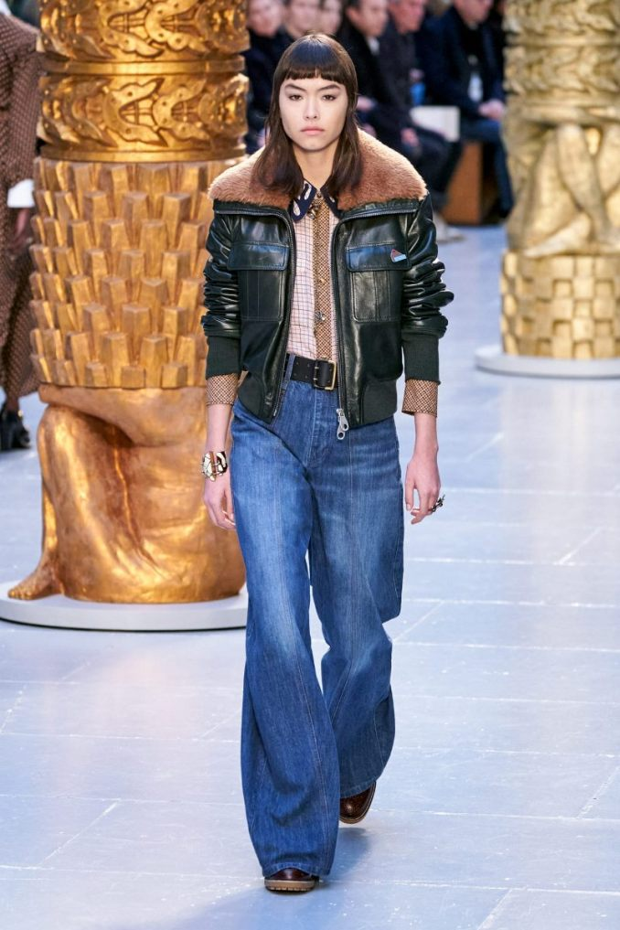 Fashionable jeans fall-winter 2020-2021 from the Chloé collection