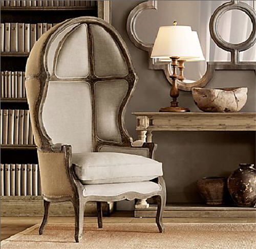 Restoration Hardware Chairs: Bits Of Inspiration: The Porter's Chair