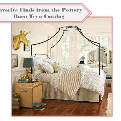 Catalog Finds:  Pottery Barn Teen