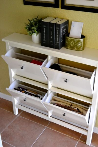 Product inspiration hemnes shoe cabinet confettistyle - Shoe rack for small spaces image ...