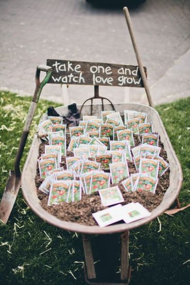 Garden Party Party Favors
