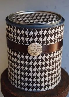 Paint Can Gift Wrap
