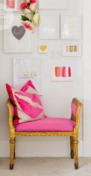 Gallery Wall via Style At Home