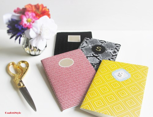 DIY Notebooks by ConfettiStyle6