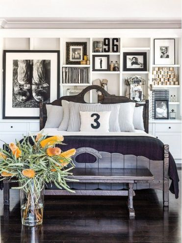 Diane Keaton's Bedroom via Domaine