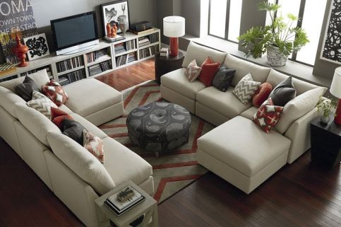 Facing Sectional Sofas