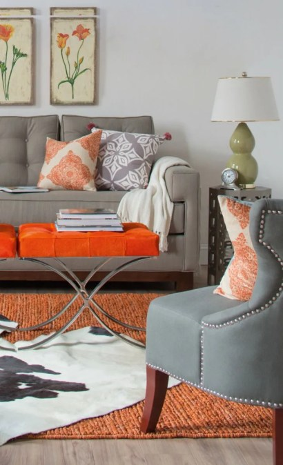 Orange and Grey via En.paperblog