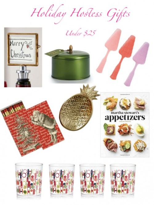 Holiday Hostess Gifts Under $25.001