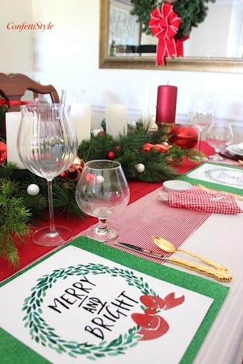 Merry & Bright Tablescape-2