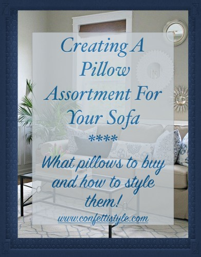 Design Guides--Creating A Pillow Assortment For Your Sofa