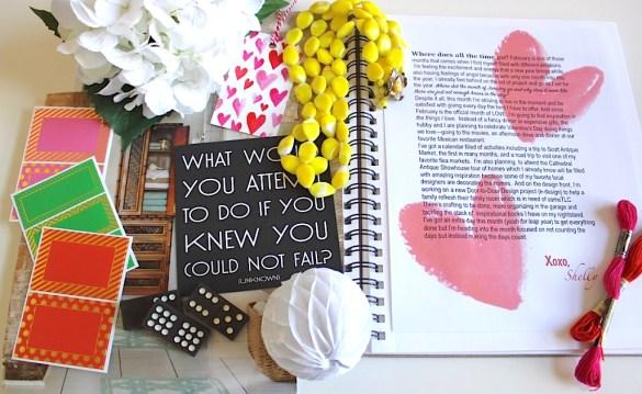 Inspiration Notebook--February 2016