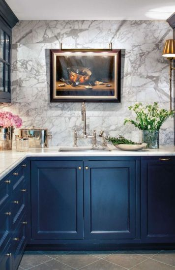 Marble Kitchen Wall