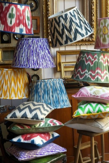 Trend spotlight patterned lampshades confettistyle printed lampshades aloadofball Choice Image