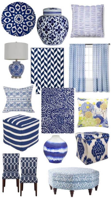 Blue and White Decor--Target.001