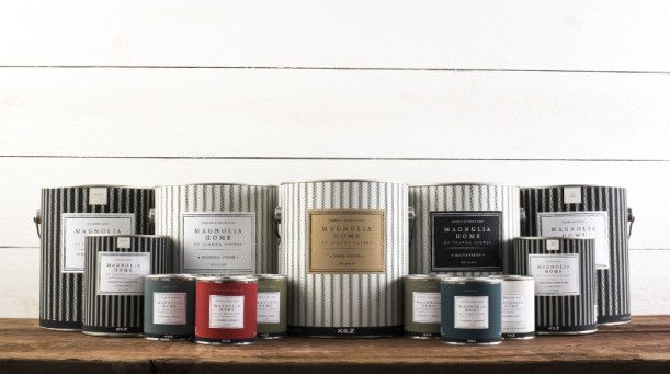 Magnolia Home by Joanna Gaines(TM) Paint is now available on Magnoliamarket.com. (PRNewsFoto/Magnolia Home by Joanna Gaines)