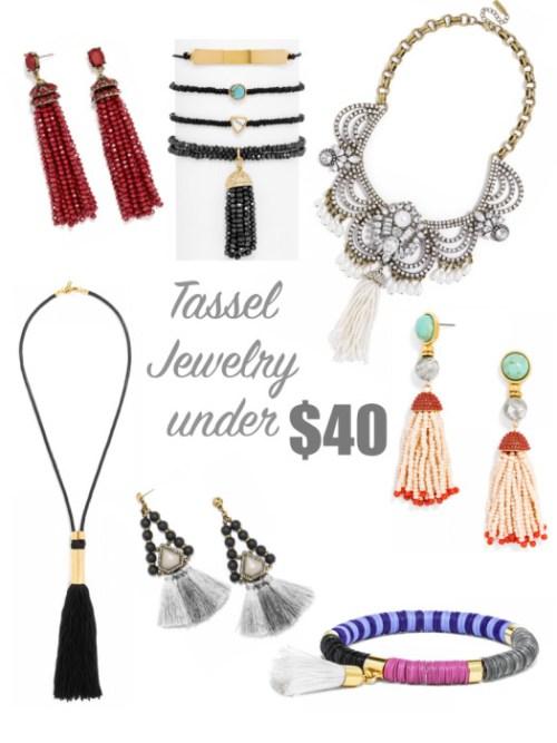 Tassel Jewelry Under $40.001