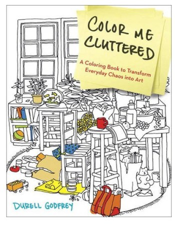 Color Me Cluttering Coloring Books
