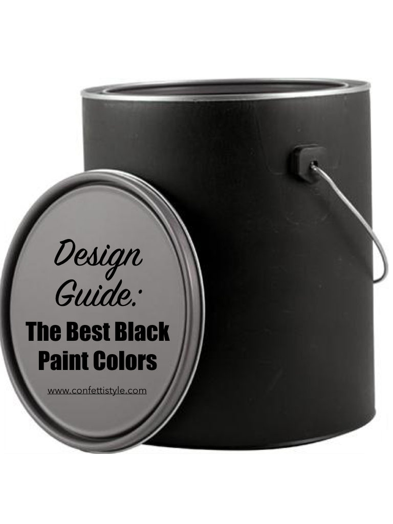 Design Guide:  The Best Black Paint Colors