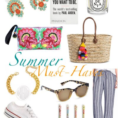 Summer Must-Haves–My Shopping List