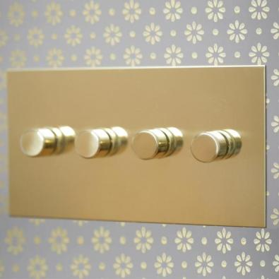 Unlacquered Brass Rotary Dimmer
