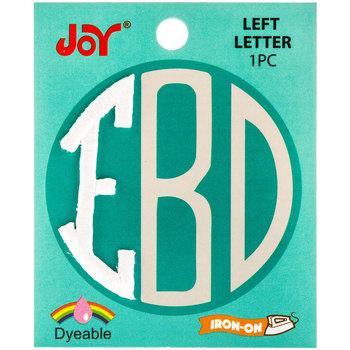 Joy Monogram Letters