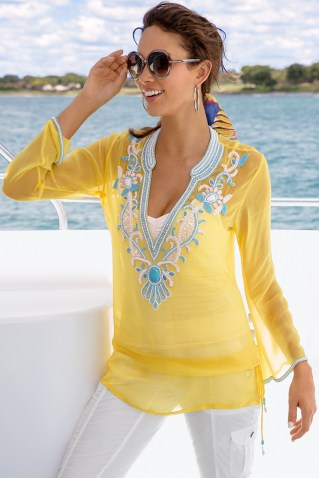 Tunic Top via Boston Proper