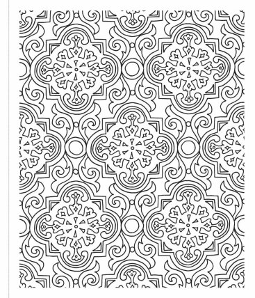 The Inspired Room Coloring Book Page