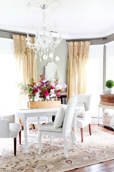 dining room garden centerpiece-1