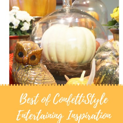 Best of ConfettiStyle–Tablescapes