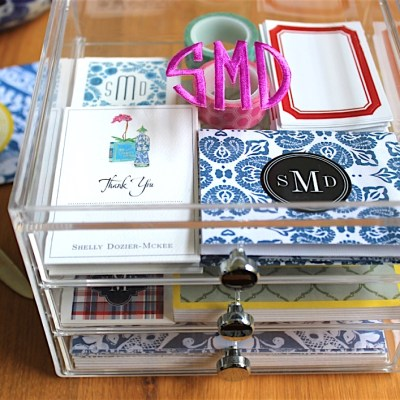 Creative Gift Giving–Stationery Box
