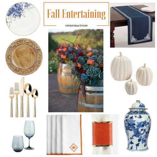 Fall Entertaining--Fall Tablescape