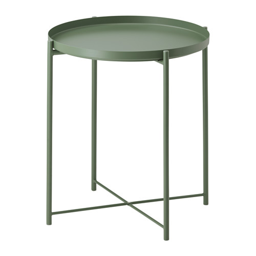 gladom-tray-table-green--Ikea DIY