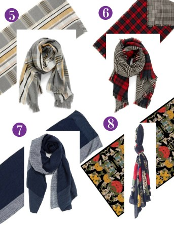 Winter Scarves From Nordstrom
