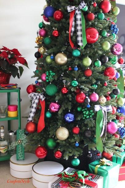 ConfettiStyle Christmas Tree--2016